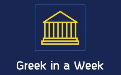 Greek in a Week: Introduction to Greek Language and Culture
